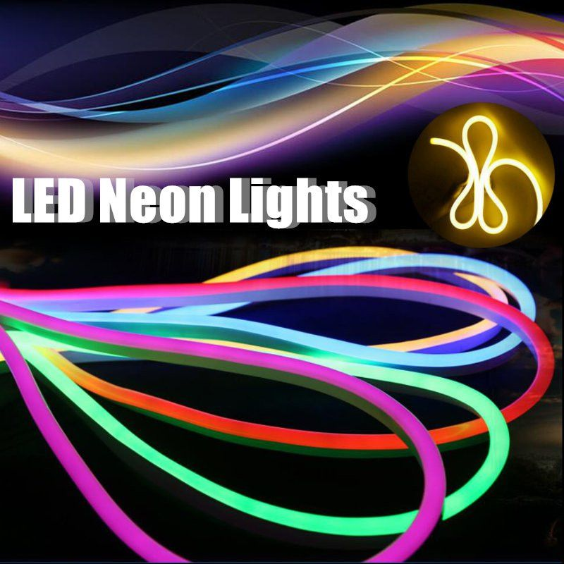 Eu Plug Waterproof Ip67 2835 Smd Ac220v Led Neon Strip Light 120led M Flexible Neon Led Light Christm 12v Led Strip Lights Led Neon Lighting Led Strip Lighting