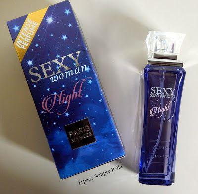 2a1273f9c6b9 Espaço Sempre Bella   Resenha - Perfume Sexy Woman Night - Paris Elysee.