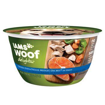 Iams Woof Delights Wet Dog Food....my German Shepherds