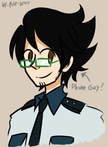 pole bear fnaf - Phone Guy