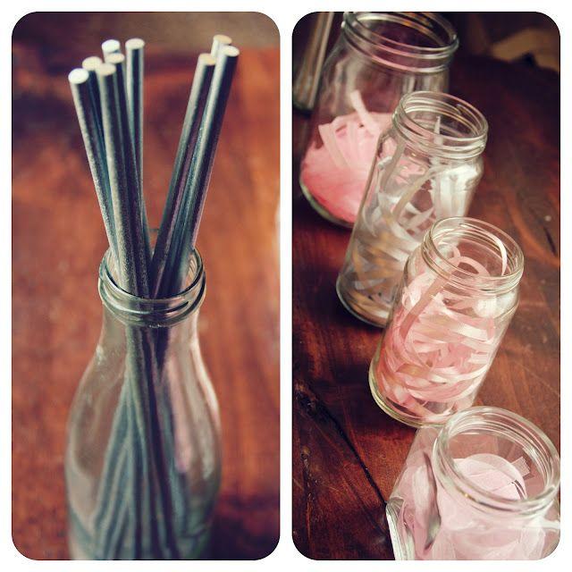 Ballet birthday DIY ribbon wand