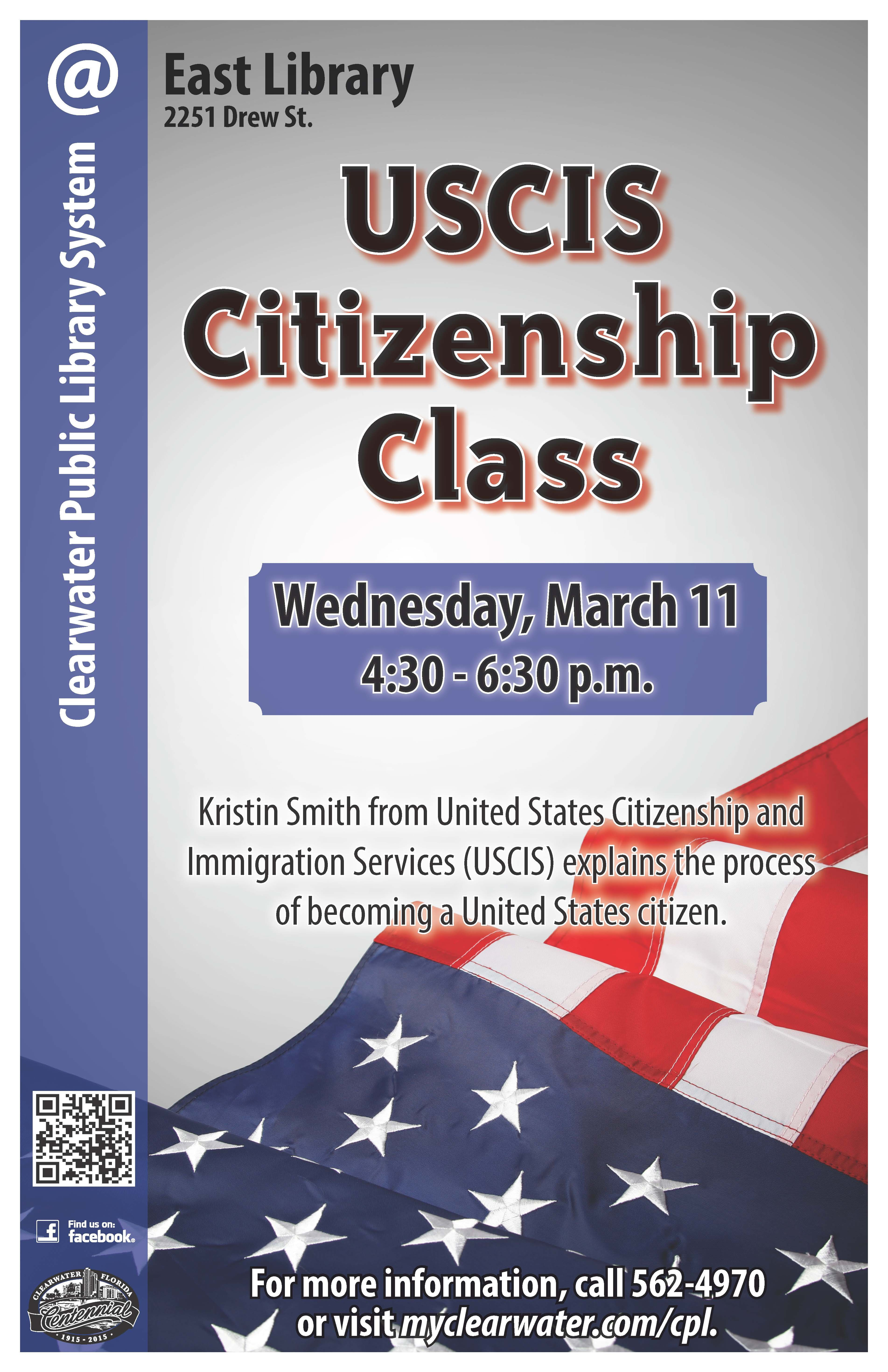 USCIS Citizenship Class: Kristen Smith explains the process