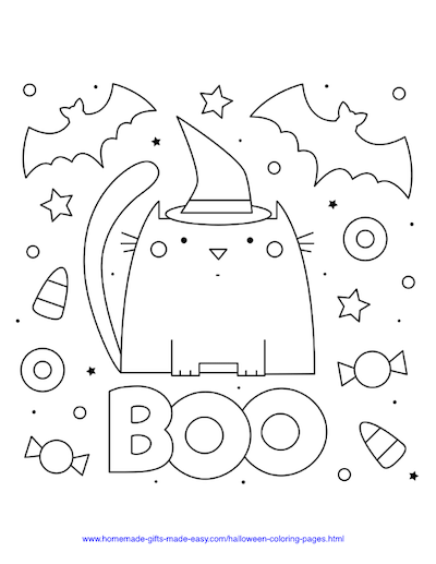 75 Halloween Coloring Pages Free Printables Free Halloween Coloring Pages Halloween Coloring Pages Halloween Coloring