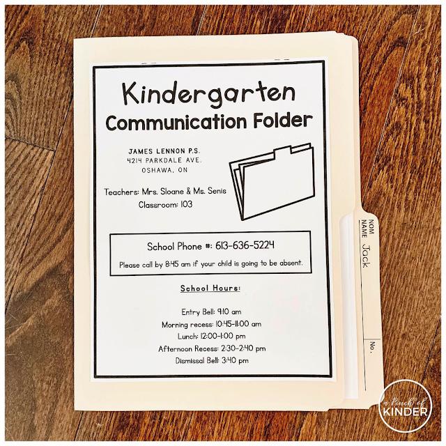 A Peek Inside My Mail Bags Kindergarten Communication Classroom