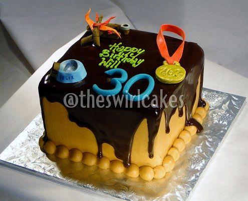 Banana Birthday Cake For Dogs ~ Th birthday cake for male man s birthday cake square banana cake