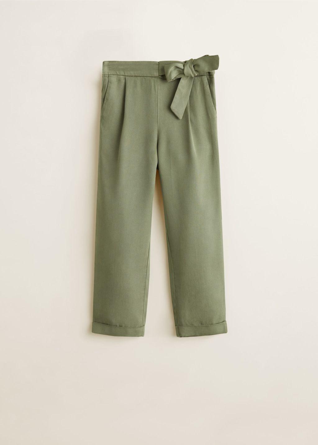6ba828b0817af0 Pantalon droit soft - Fille | PANTALON FLUIDE | Pantalon droit ...