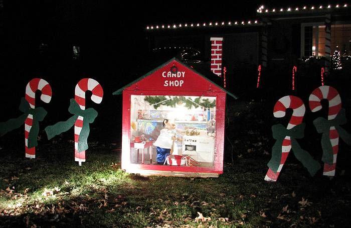 Candy Cane Lane Decorations Candy Cane Lane  Prairie Village Kansas  Halloween Ideas