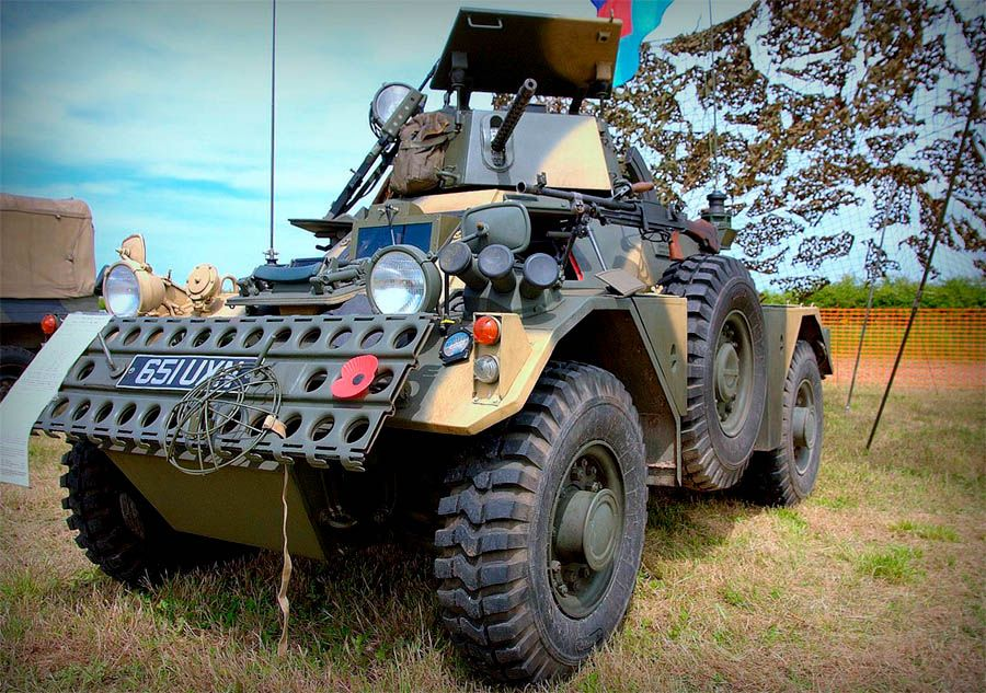 Daimler Ferret Mk2 3 Scout Car From 1958 Armored Vehicles