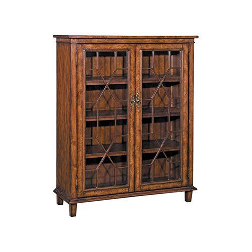 Golden Oak Kitchen Cabinets: Stein World 58648 Hanover Cabinet In Golden Oak