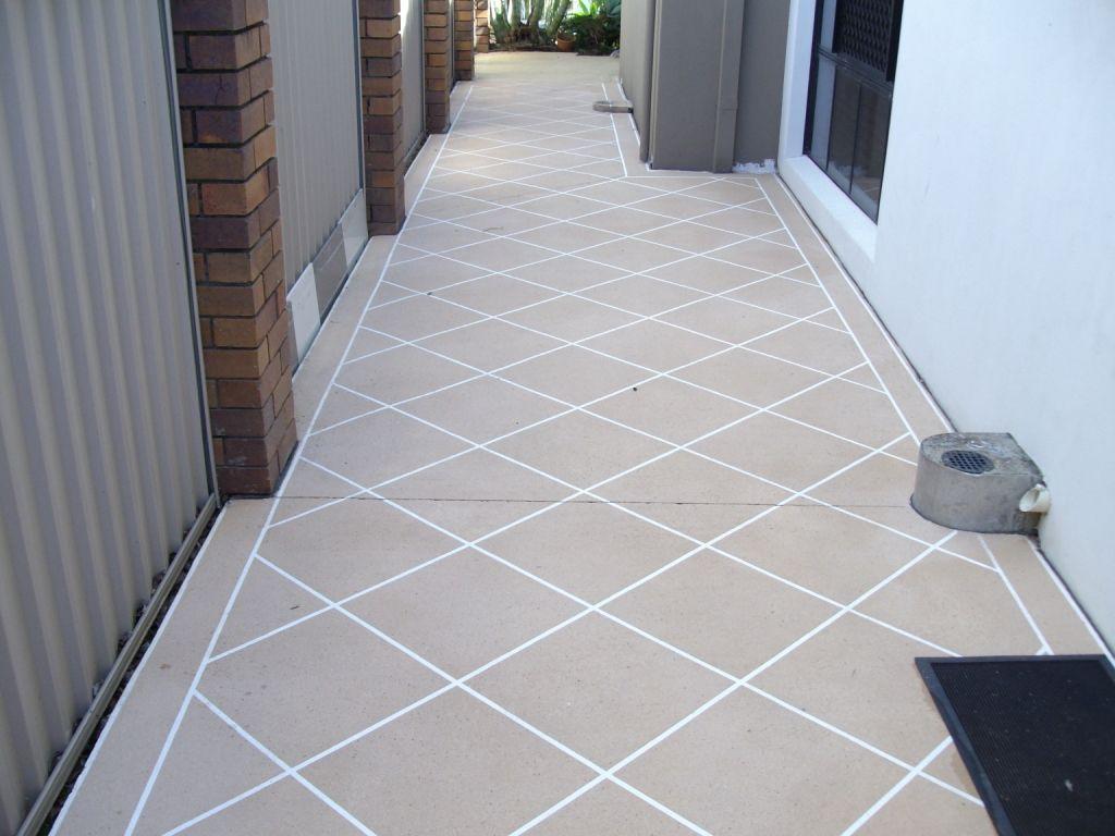 resurfacing bathroom floor tiles