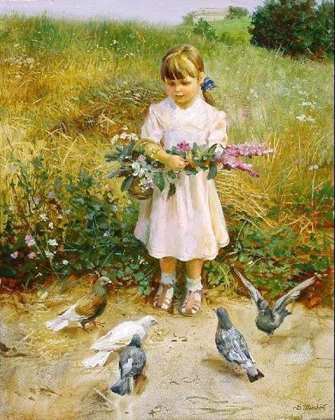 Gathering flowers...