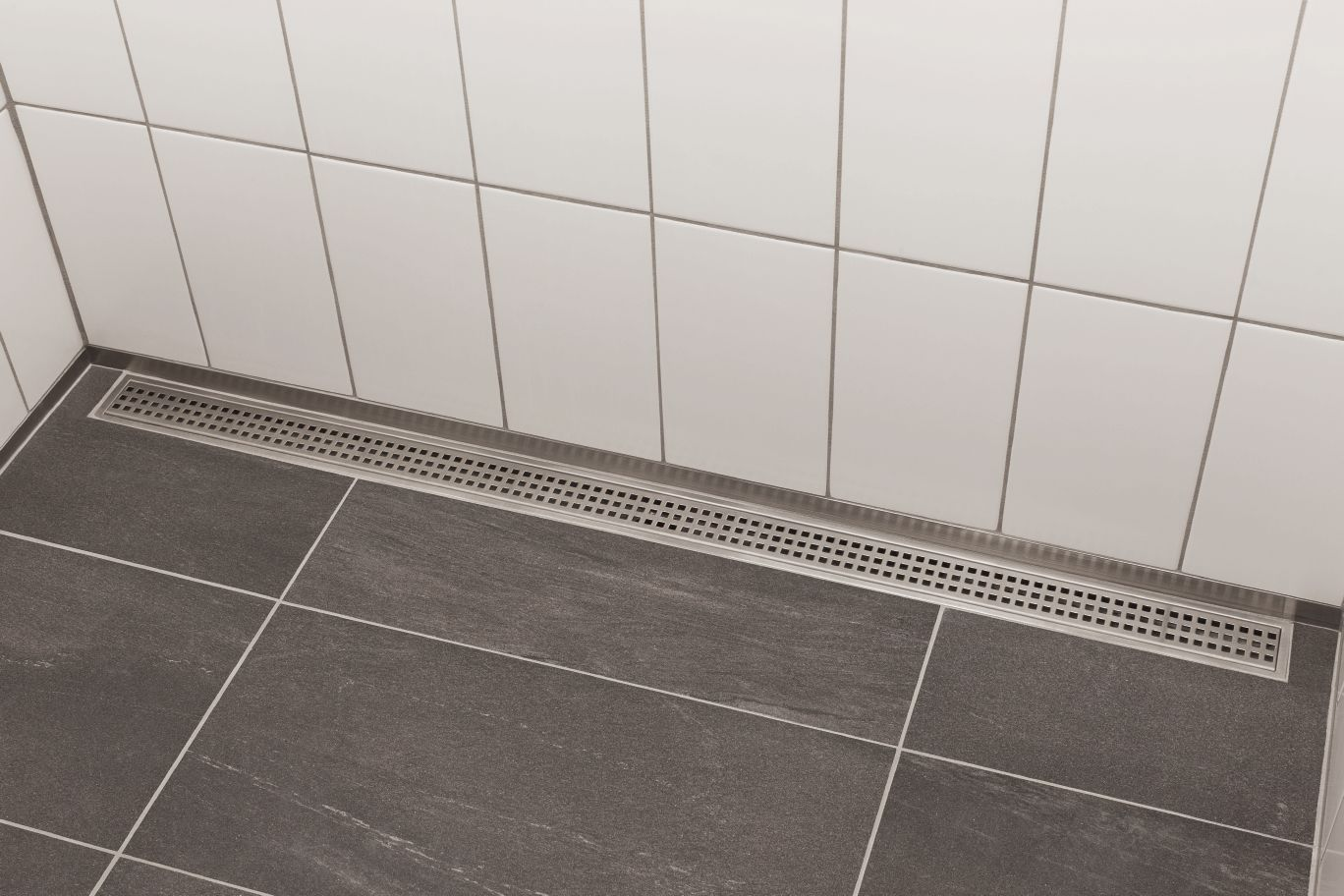 Kerdi Line Linear Drain Small Bathroom Tiles Large Shower Tile