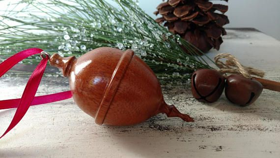 engagement ring box tree ornament proposal keepsake hand - Christmas Ornament Ring Box