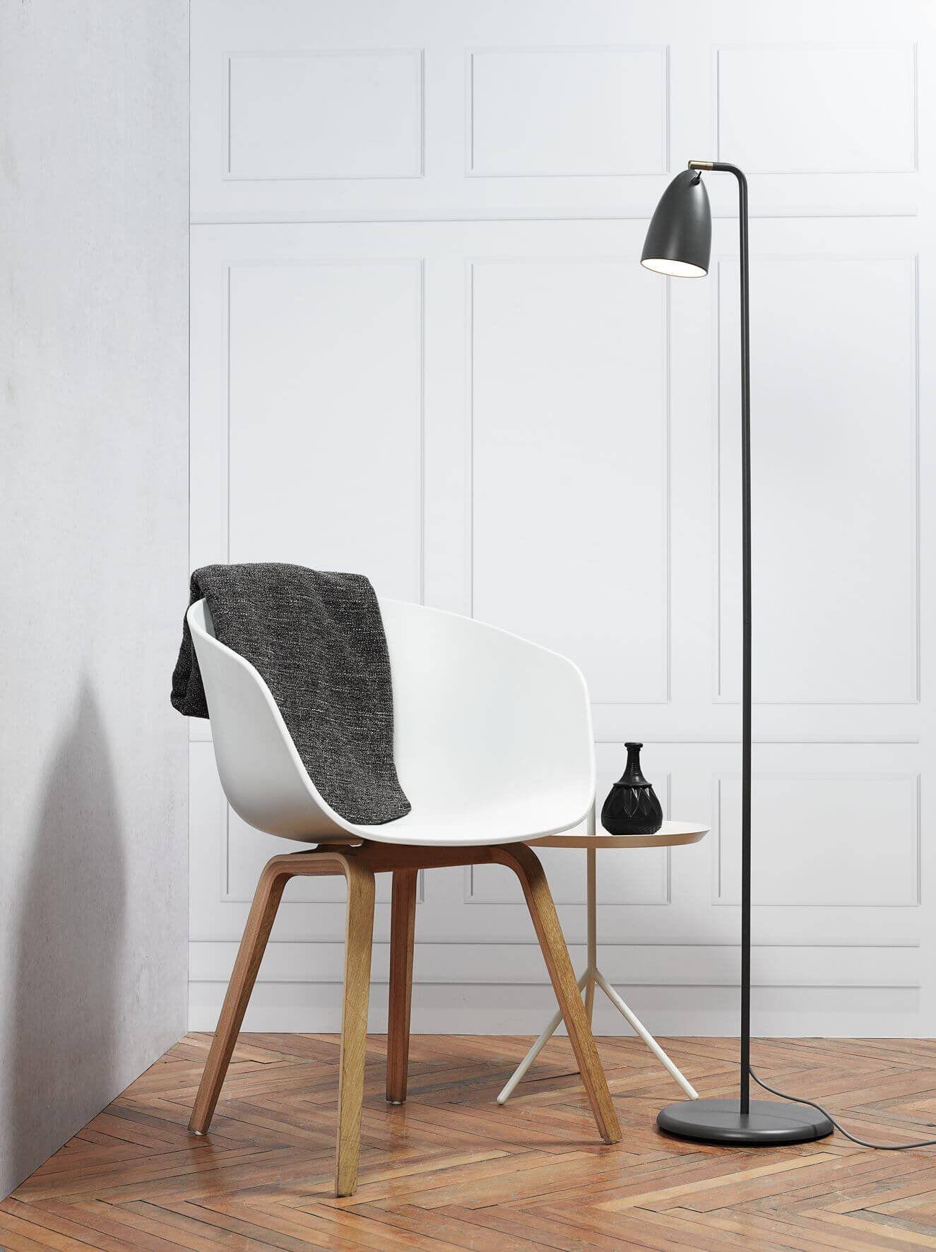 Nexus Floor Lamp Finish Grey