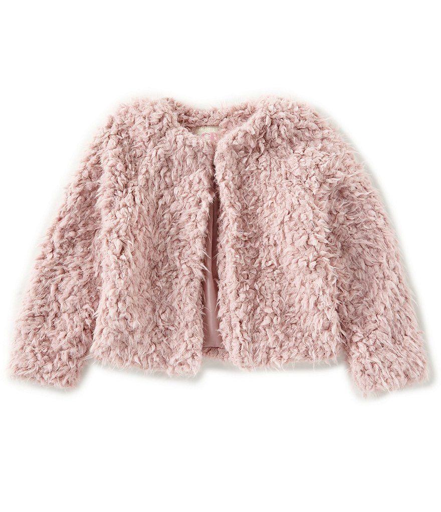 51940c565 Copper Key Big Girls 7-16 Faux-Fur Jacket