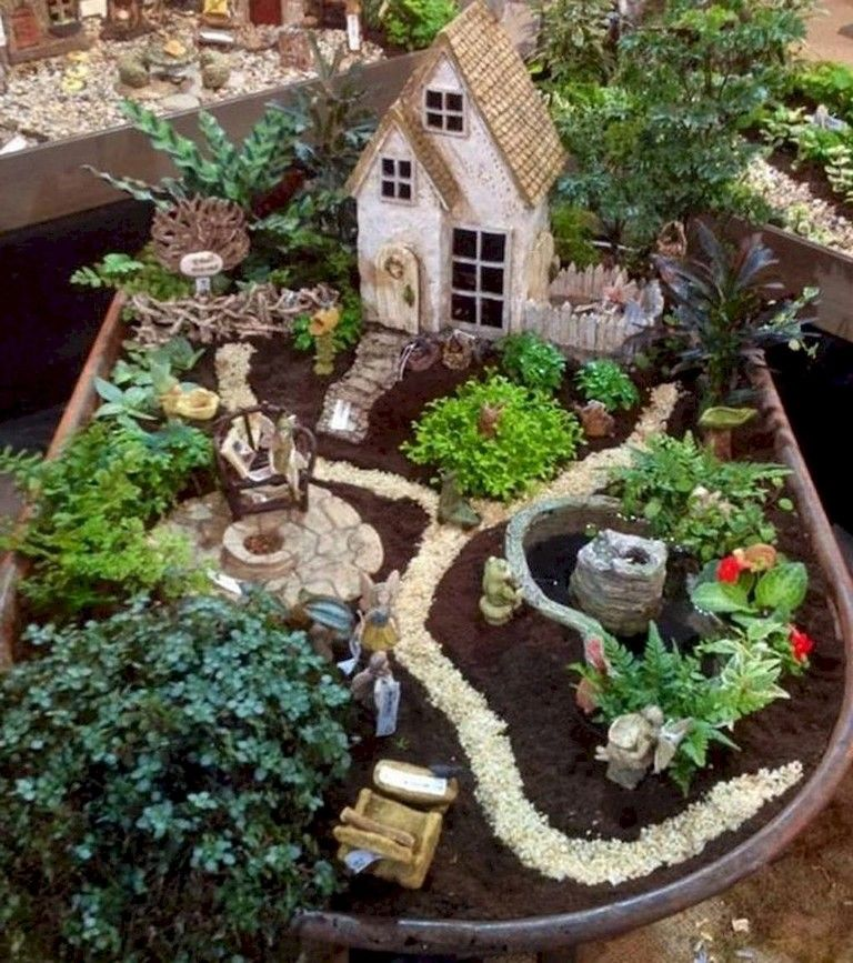 49 SIMPLE DIY FAIRY GARDEN DESIGN IDEAS is part of Simple Fairy garden - Once long summertime, filled with barbecue parties and garden pleasure, we are mostly inside and search for hobbies which we may keep ourselves occupied at home  Among the rest of the crafts such as knitting, making decoration products, recycle and… Continue Reading →