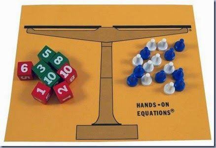 "I wanted to tell you about some AMAZING resources called ""Hands-On Equations."" I used this product with my 3rd-5th grade gifted and advanced students, but I also model-taught the basics to  regular 3rd-5th grade classroom teachers from my two elementary schools."