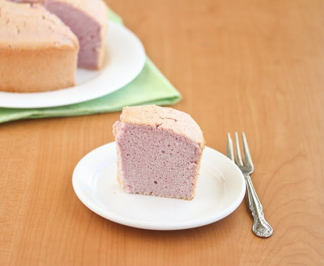Ube Chiffon Cake | Kirbie's Cravings | A San Diego food blog