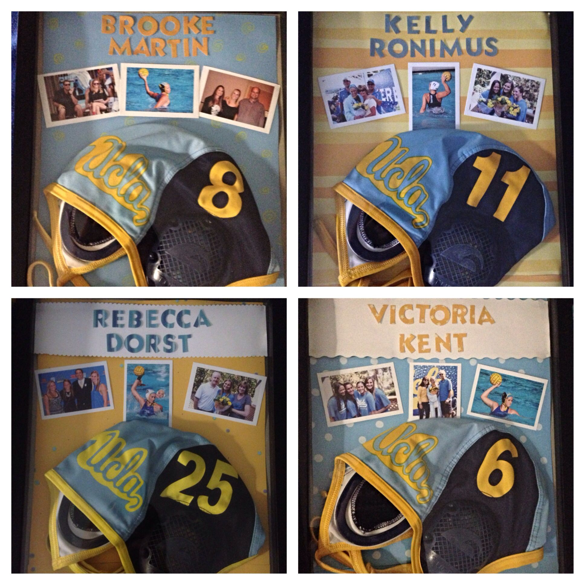 fc31bc0fd38 Shadow boxes for water polo seniors