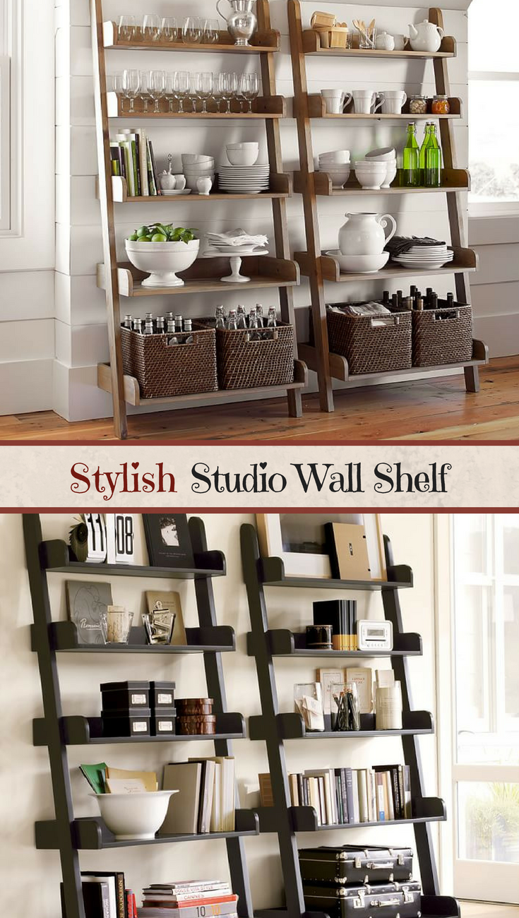 This Studio Wall Shelf Is Stylish And Functional A Nice Room