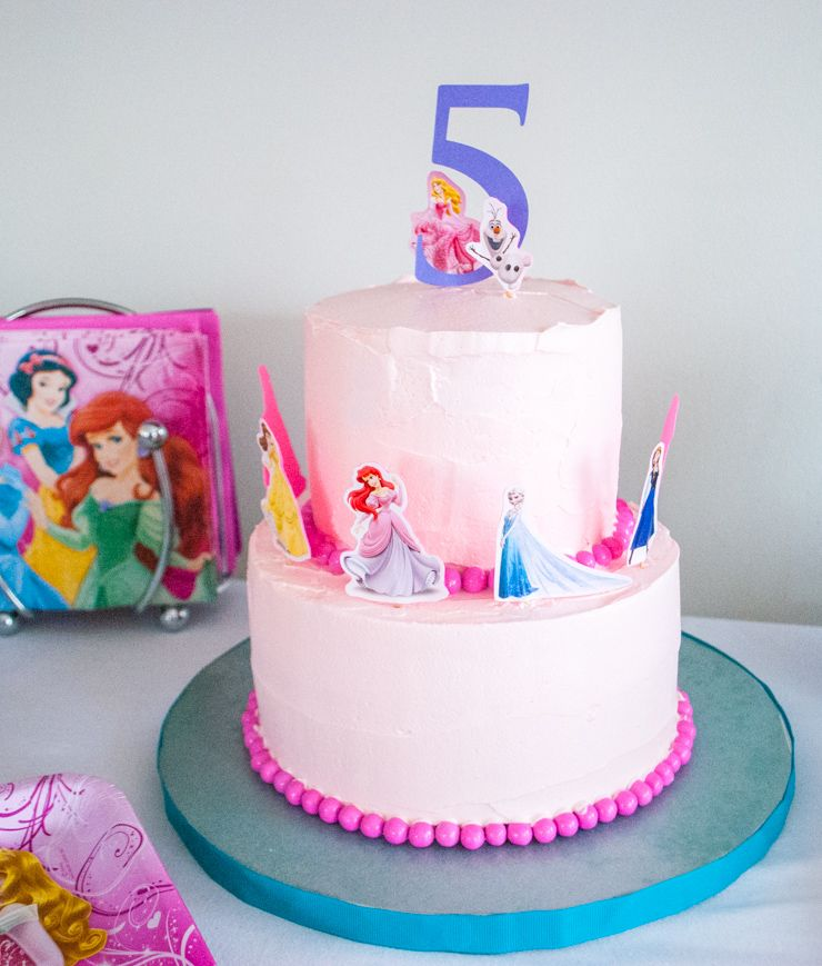 10 Do It Yourself Birthday Cakes For Little Girls Disney