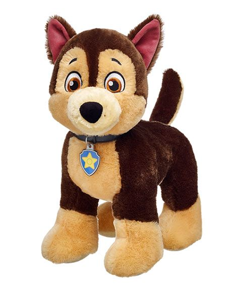 15 in. Chase BuildABear Paw patrol plush