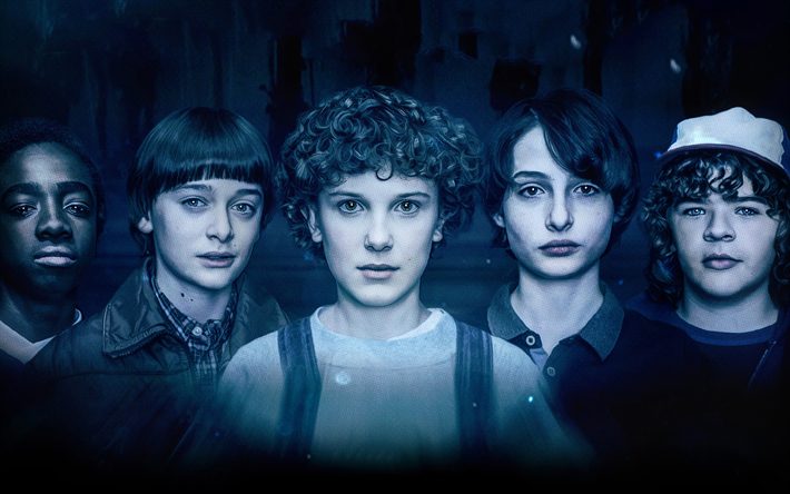 Download wallpapers 4k, Stranger Things, 2018 movie