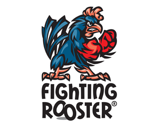 fighting rooster logo design angry fighting rooster cartoon rh pinterest com fighting cancer logos fighting illini logos