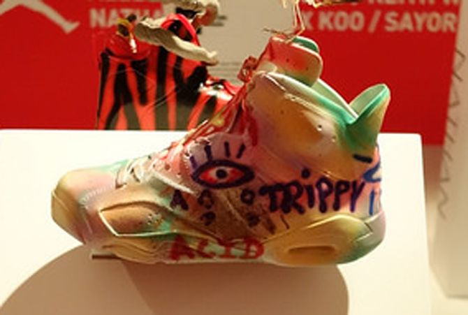 the latest 5a1fa 8e47e Air Jordan 6 Customs Slam Dunk   Sole Collector