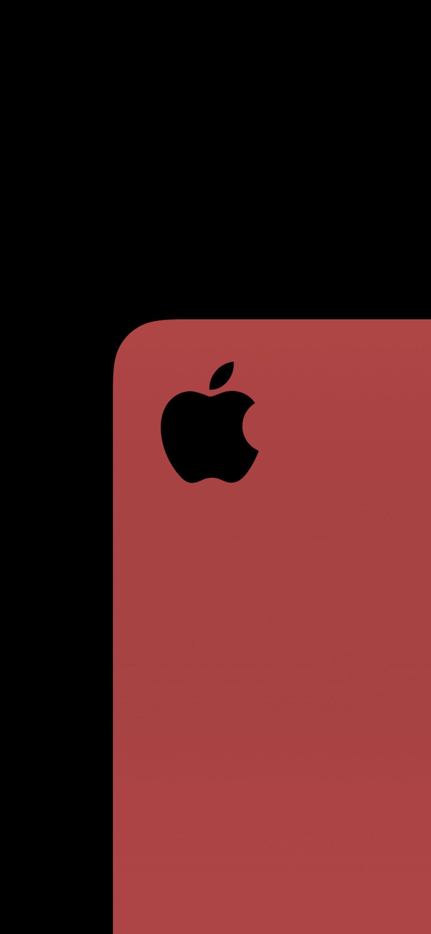 Iphonewallpaper Red Hintergrundbildiphone Tapete Apple Logo Red Ios13wallpaper Ios13 Iphonewallpa In 2020 Apple Logo Wallpaper Iphone Apple Logo Design Apple Logo