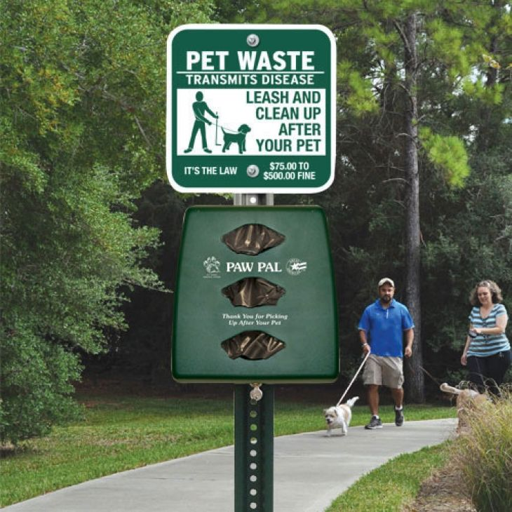 Install Pet Waste Station and implement other HOA pet
