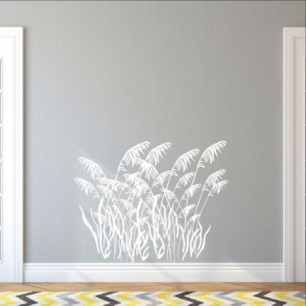 Sea Grass Style B Decal Vinyl Wall Decal Beach Style Wall - Beach vinyl decals