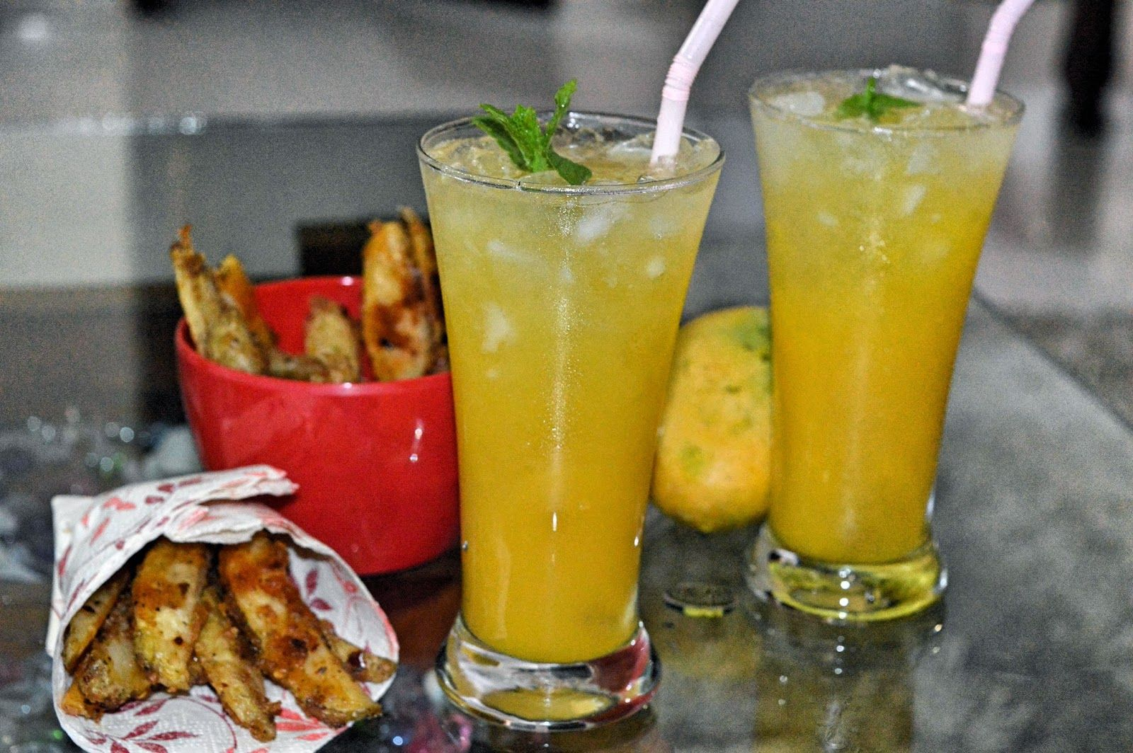 exotic-n-easy cooking: Mango Apple Fussion