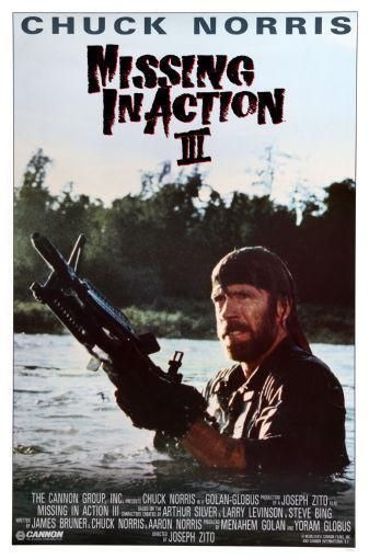 Braddock Missing In Action 3 Movie Poster Standup 4inx6in Products - missing in action poster