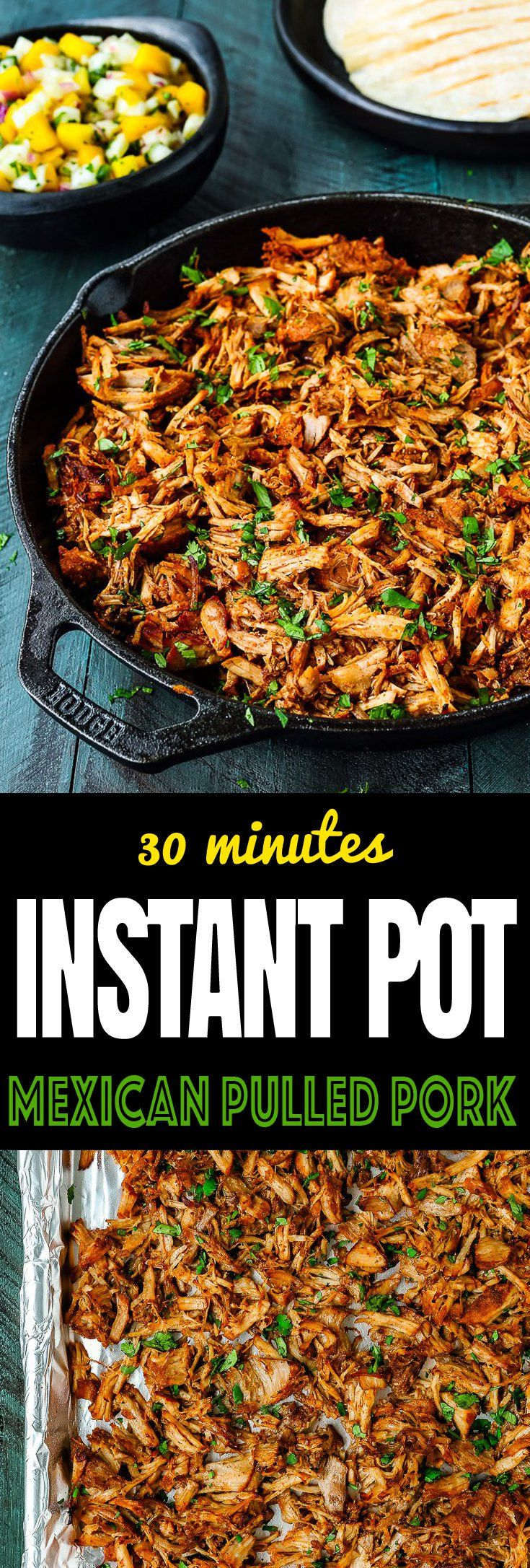 Instant Pot Mexican Pulled Pork Recipe #mexicancooking