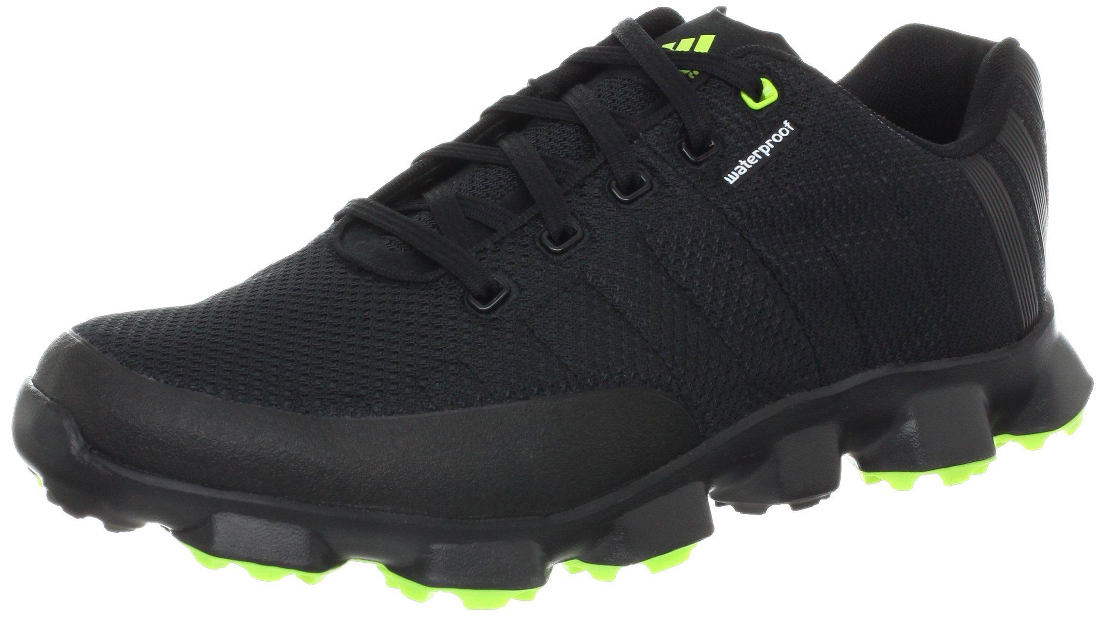 Adidas uomini crossflex scarpa da golf, nero / nero / melma, 10 milioni di noi le scarpe