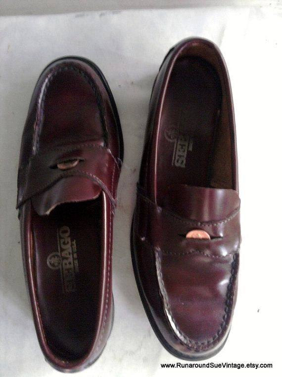 97c2c71fc606a Still love penny loafers, but in high school in the 80s mine had ...