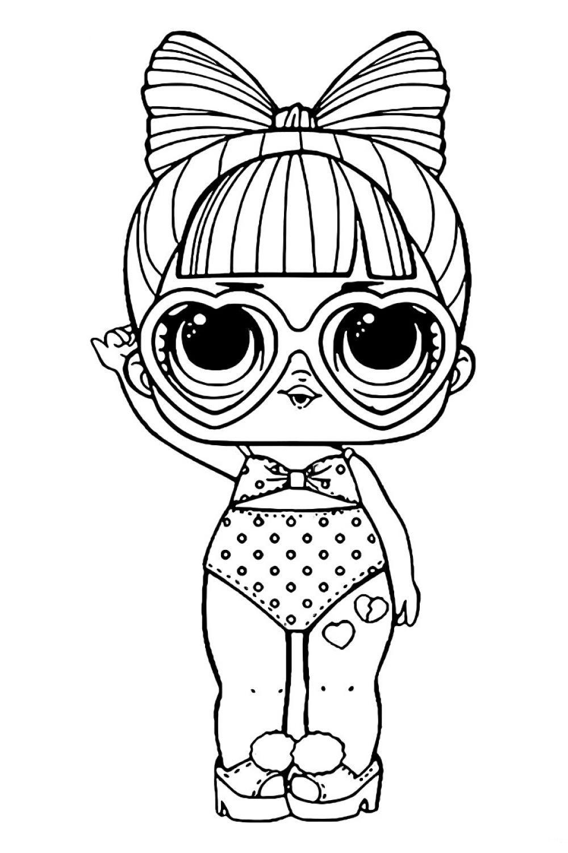 Кукла ЛОЛ SPF QT Загар - Куклы LOL | Раскраски, Детские ...