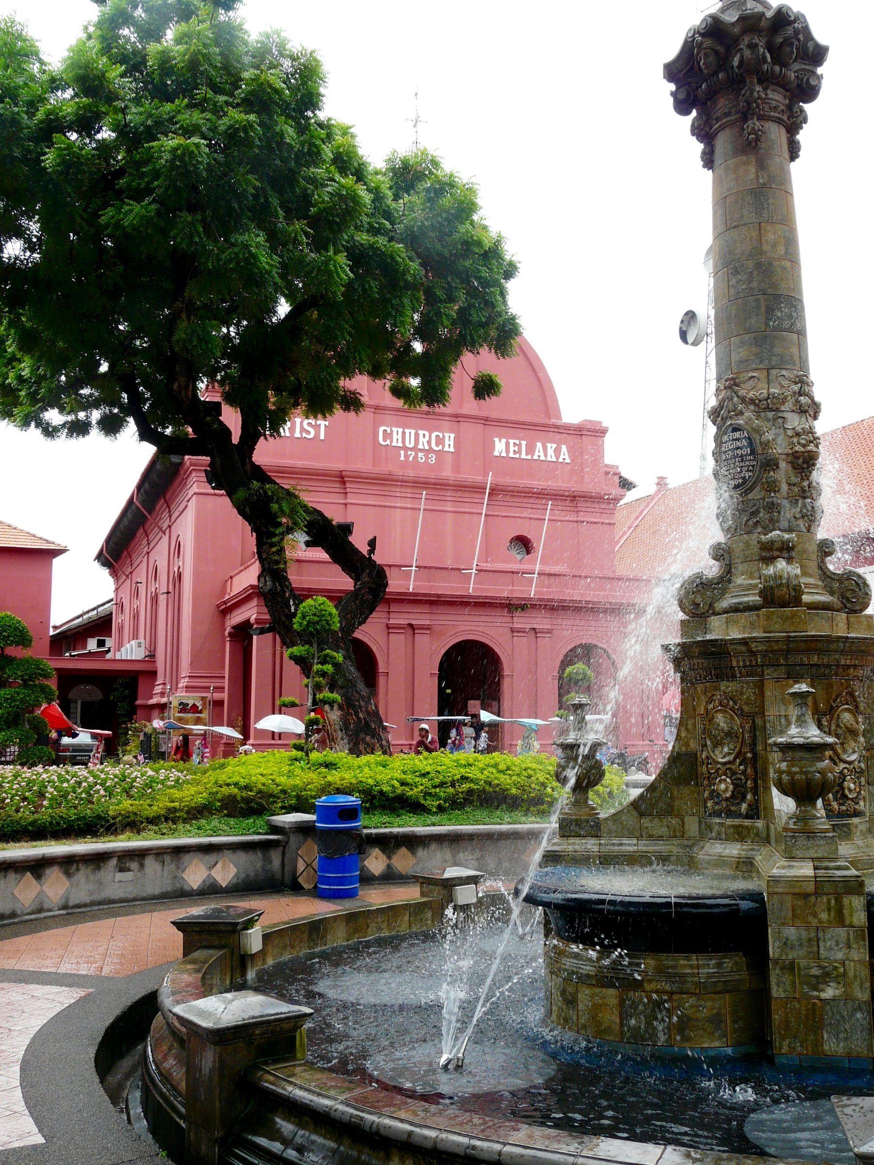 Melaka et son centre historique - Le quartier rouge