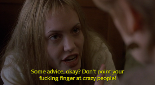 My Favorite Scene From The Movie, Girl Interrupted, And
