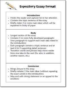 Expository essay format freebie in laura candler s writing file