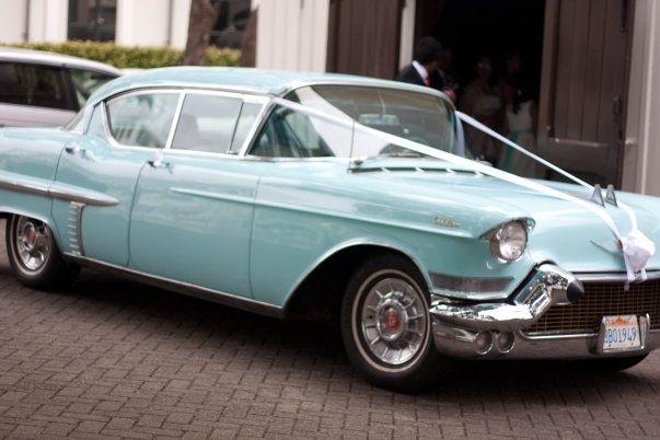 Tiffany Blue Cadillac Our Wedding Car