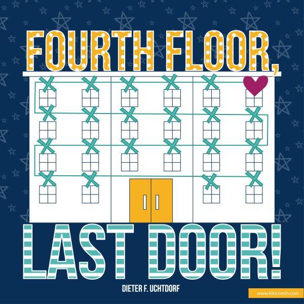 Charming Fourth Floor Last Door