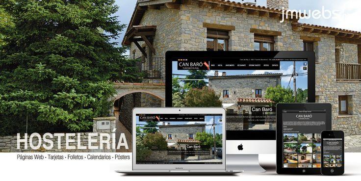 Dise o p ginas web para casas de turismo rural en for Paginas de diseno de casas