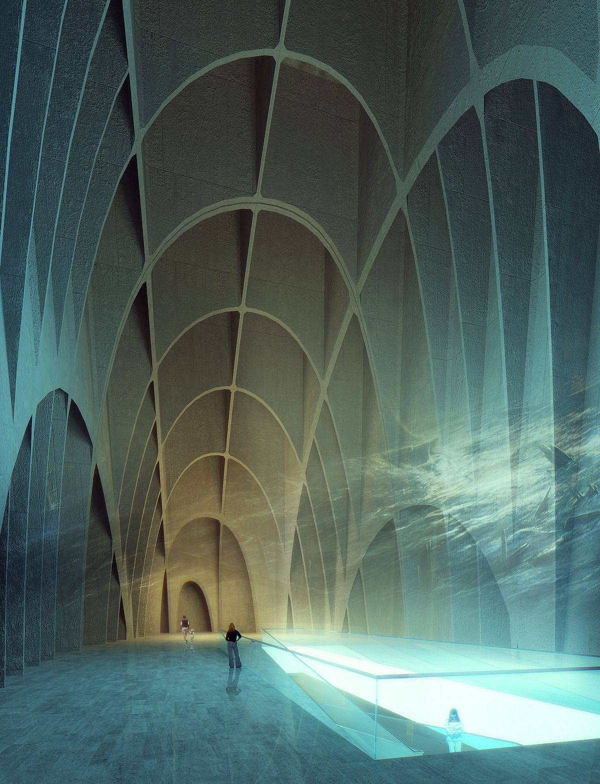 Museum for Underwater Antiquities and Regeneration of part of the Piraeus Port | project 3 & Spiridon Mellos | Archinect