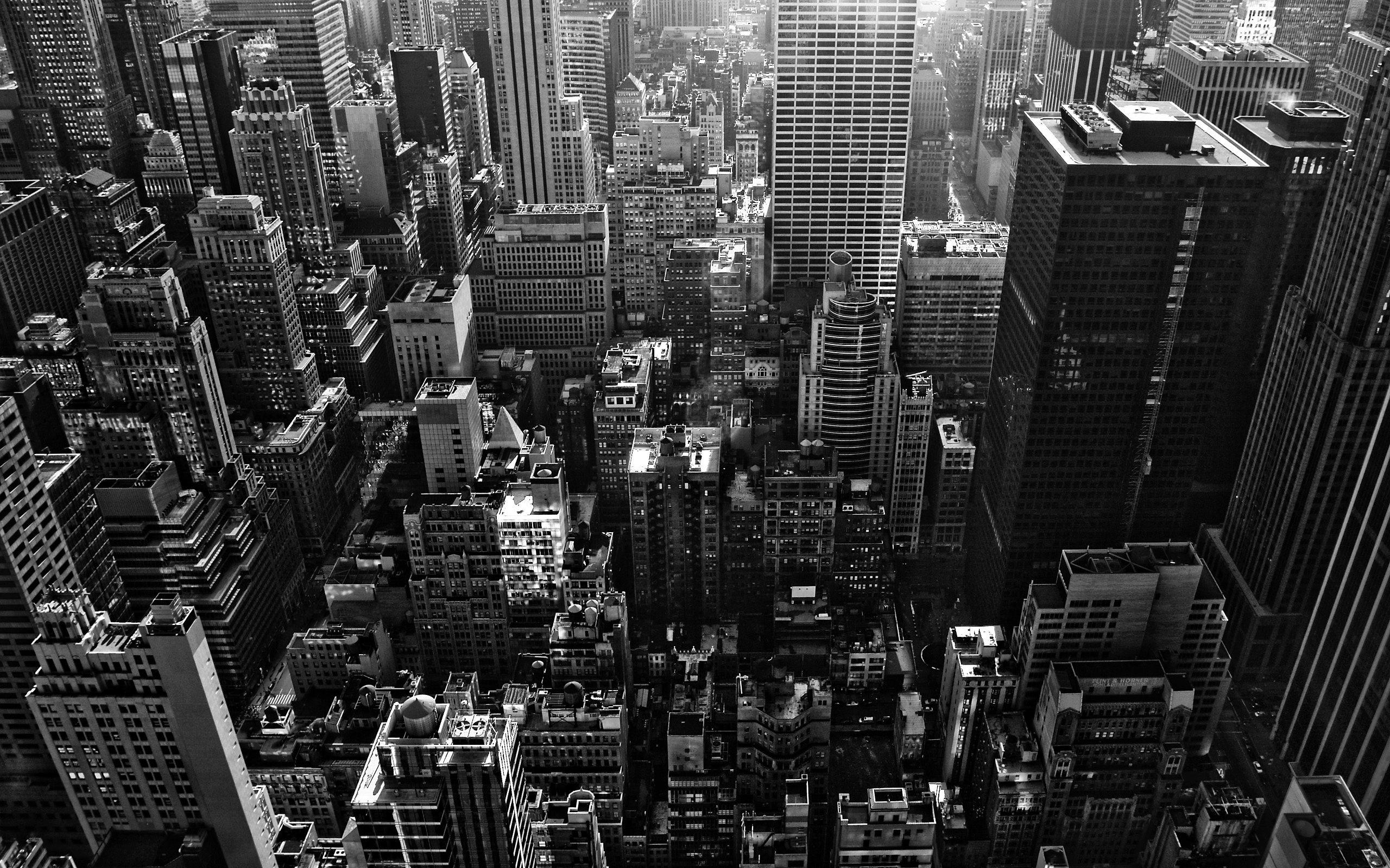 New York City Black White Travel Google Startseite