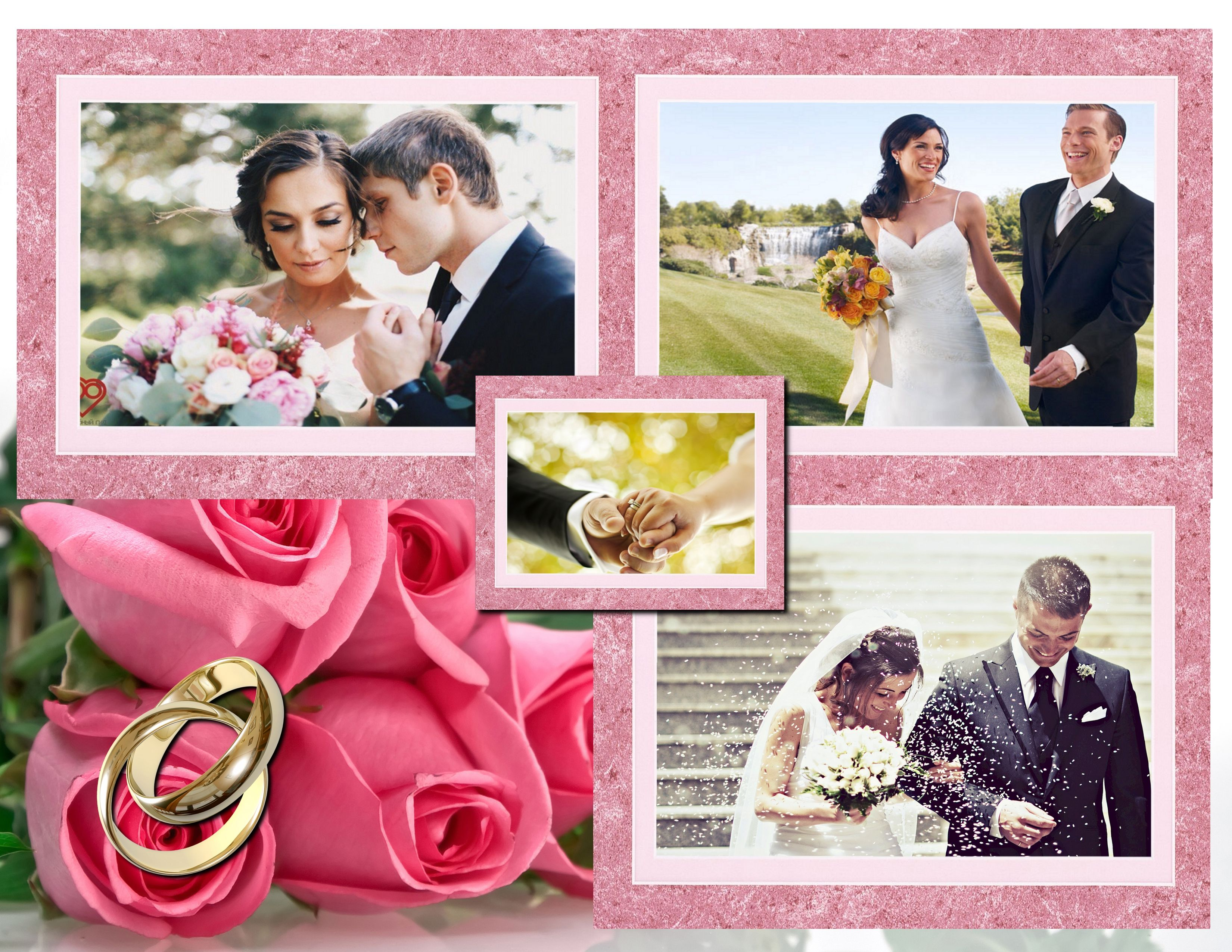 Keep The Memories Of Your Wedding Day In A Gorgeous Collage Get Started With Http
