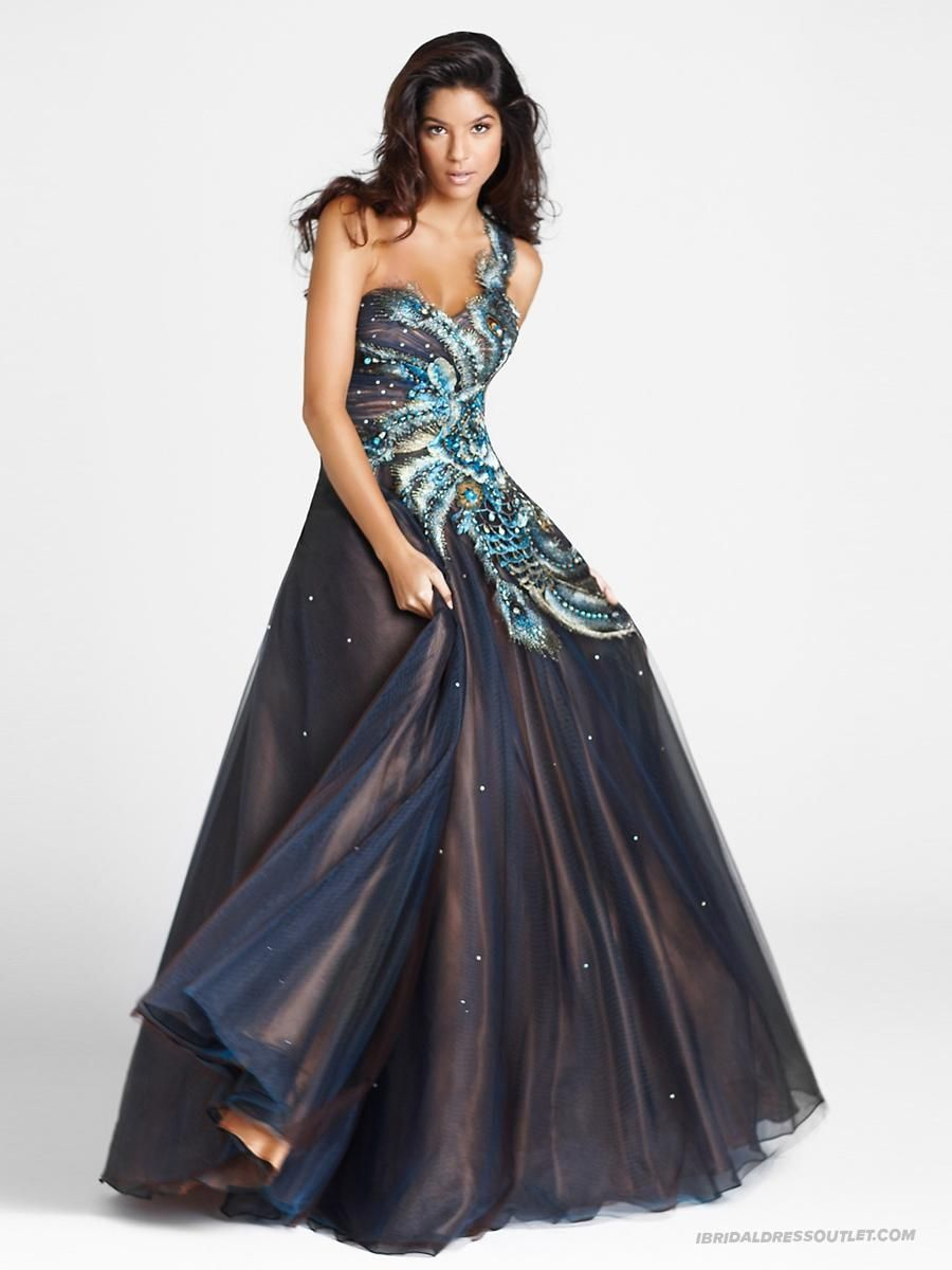 Taffeta Organza One-shoulder Sweetheart Neckline Luxurious Sequins Ornament Quinceanera Dresses WPD7091 Can Show Your Perfenct Figure   When You Want To Buy Nice Quinceanera Dresses Teal Is Your Best Choice