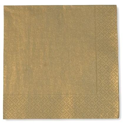 Tovaglioli di carta color oro 20 pz apparecchiare a natale capodanno matrimonio - Tovaglioli di carta decorati ...