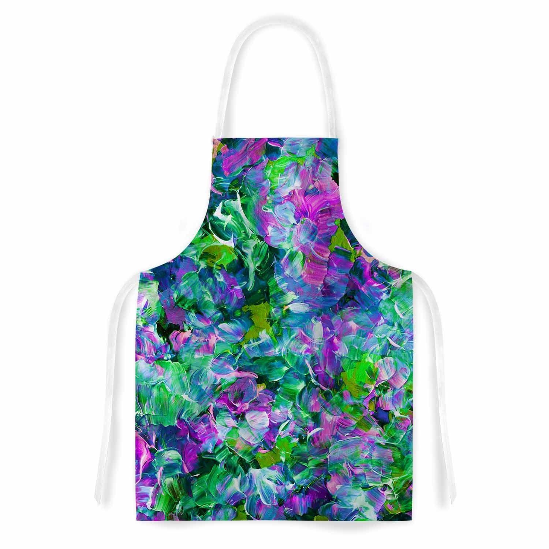 Kess InHouse Ebi Emporium \'Bloom On! Exotic\' Green Purple Artistic ...